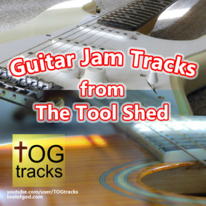 Guitar Jam Tracks from The Tool Shed by Orion Williams - Cover Art