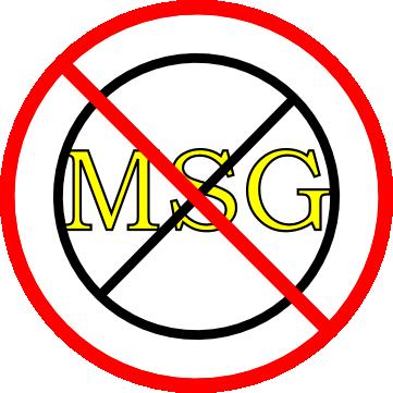 """No """"No MSG"""""""