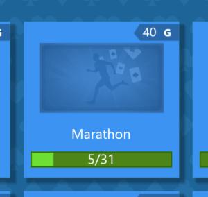 Marathon achievement