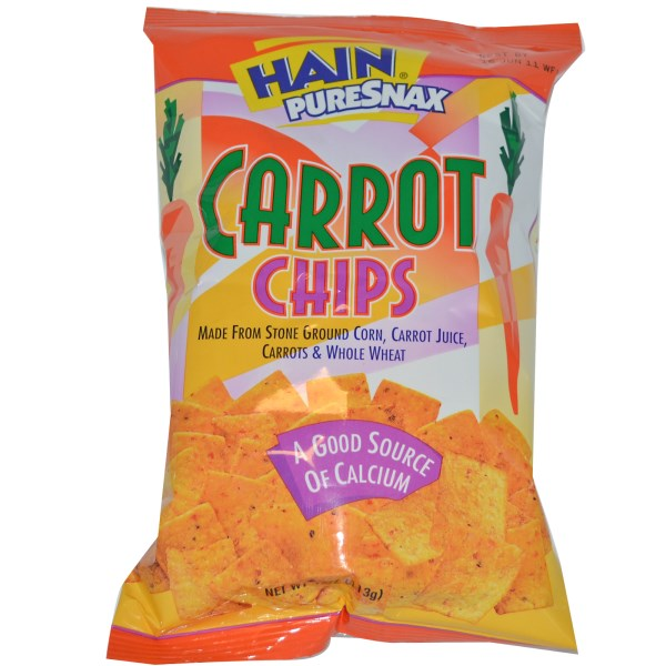 Hain Carrot Chips: Delicious and Discontinued (A Tribute ...