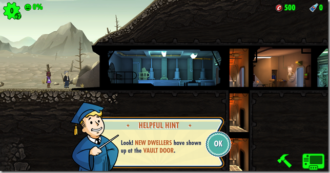 Fallout Shelter new dwellers